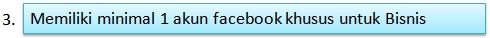 akun facebook bisnis nasa