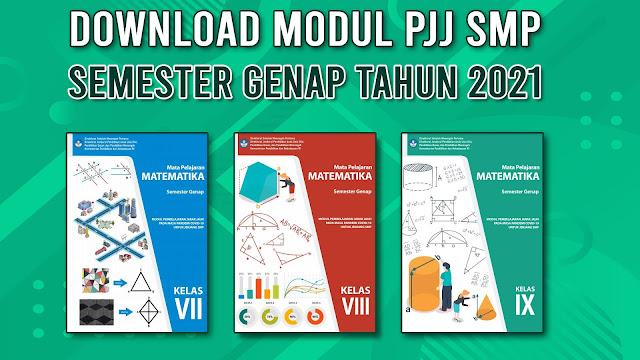 download modul PJJ SMP SEMESTER GENAP TAHUN 2021