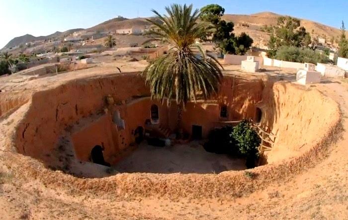 Matmata Underground Troglodyte Houses