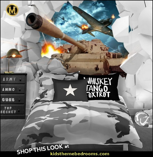 army bedroom TANK WALLPAPER MURAL army bedroom decor military bedroom ideas  Army bedroom ideas - Army Room Decor - Military bedrooms camouflage decorating - Marines decor boys army rooms - camo themed rooms - Military Soldier - Uncle Sam Military home decor - Airforce Rooms - military aircraft bedroom decorating ideas - boys army bedroom ideas - Navy themed decorating
