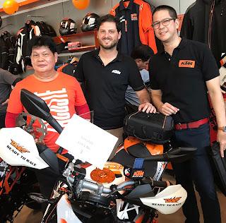 KTM BGC Custom Bike Competition 2018 winners