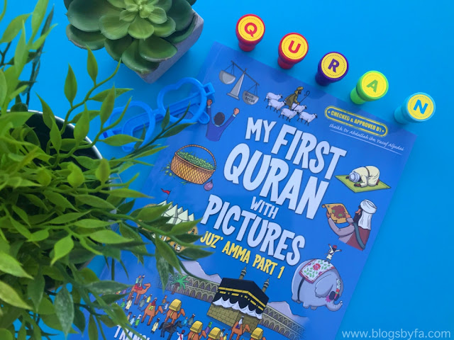 My first Quran with pictures by Faith books