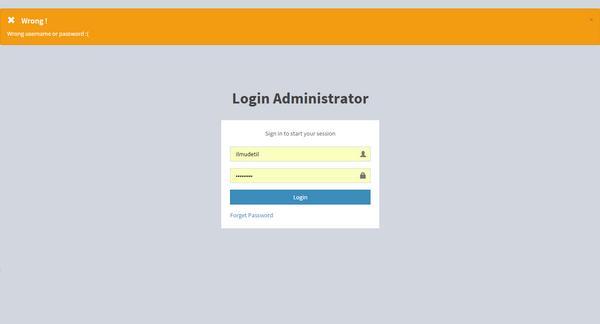 proses autentifikasi user dengan php mysql