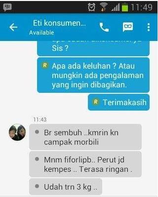 Obat Pelangsing Perut Buncit | 085857798518 MURAH AMAN ...