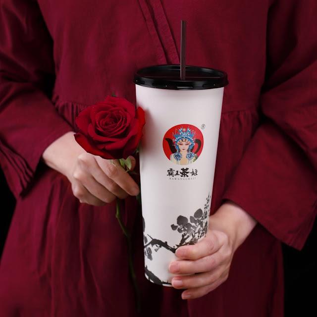 BAWANGCHAJI LAUNCHES A ROSÉ TIE GUAN YIN MILK TEA ON 9.9.2021
