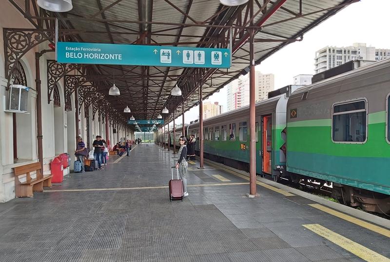 Estação de Trem em Belo Horizonte, Centro