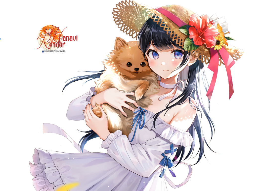 Anime Girl Render by  Nanavichan