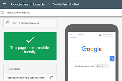 A new mobile friendly testing tool