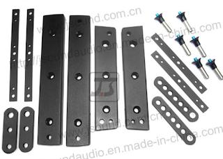 Bentuk Bracket Untuk Box Speaker Gantung Line Array Lengkap
