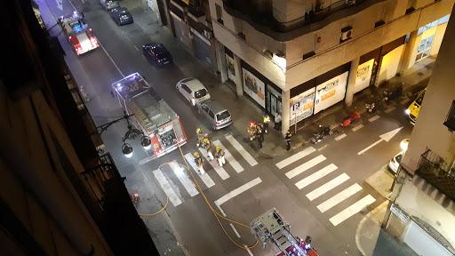 Intervenció dels bombers. Foto: @HelleKettner