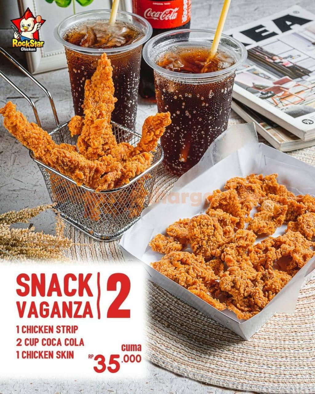 Promo Rockstar Chicken Paket Snack Vaganza 2