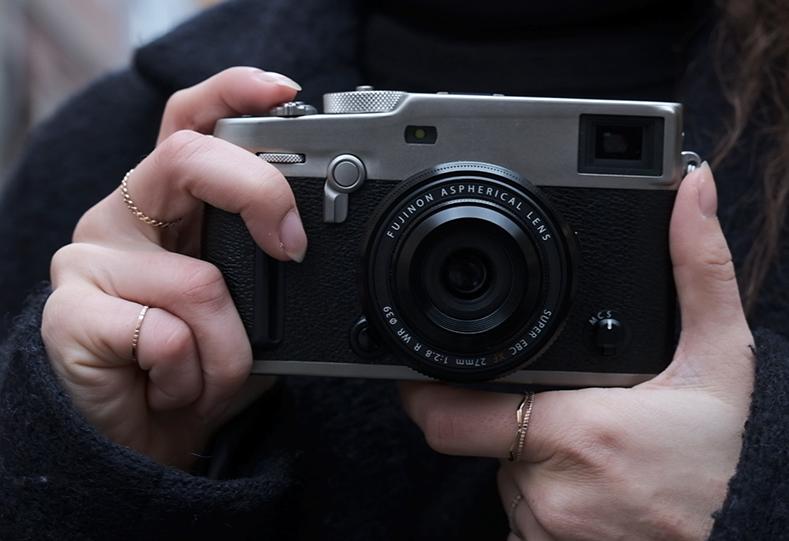 Fujinon XF 27mm f/2.8 II с камерой Fujifilm