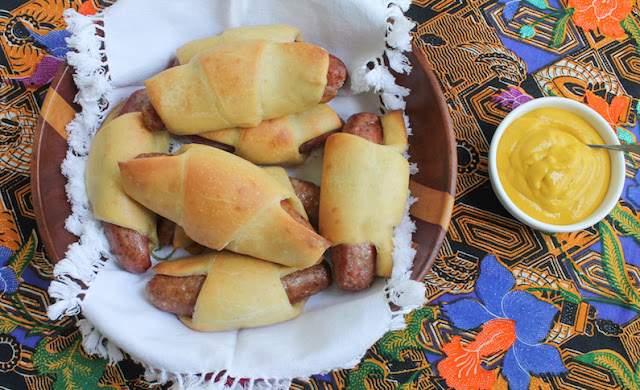 Food Lust People Love: Made one day and baked the next morning, these Sausage Stuffed Sourdough Crescent Rolls are the perfect breakfast at home or on the go.