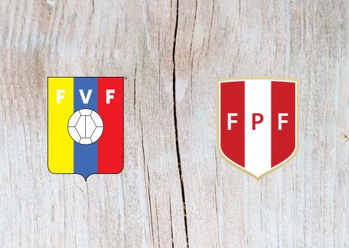 Venezuela vs Peru Full Match & Highlights 15 June 2019