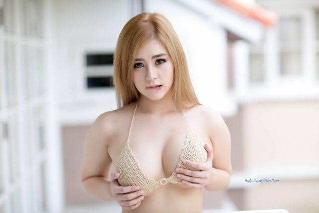 Hot girl Pimpika Warinta: Bộ ảnh khoe ngực mới nhất của gái xinh