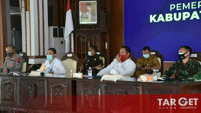 Bupati - Wabup Rakor Bareng Gubernur Bahas Penanganan Covid-19