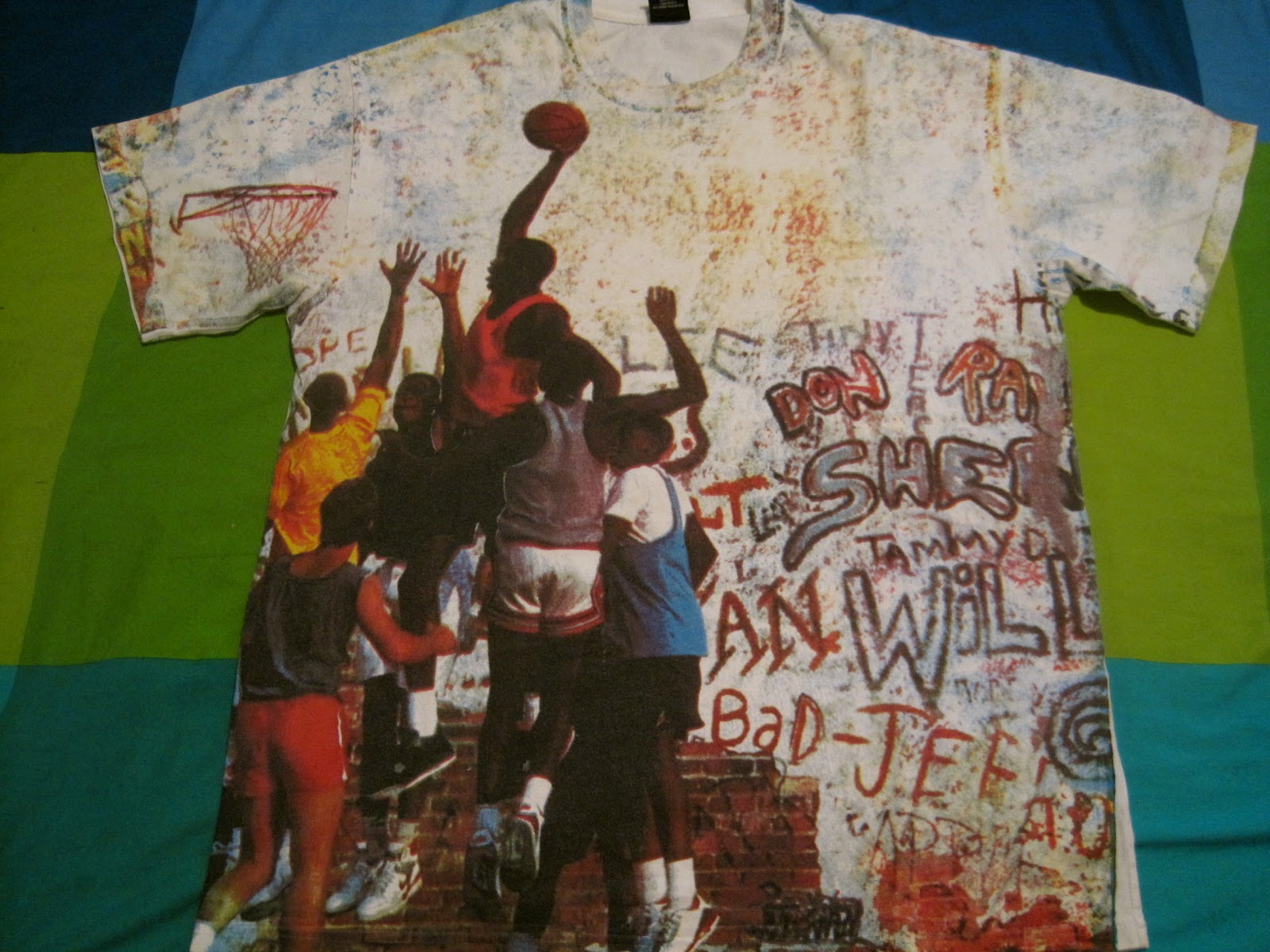 Nike T Shirt Just Do It DON D WORLD: JORDAN PL...