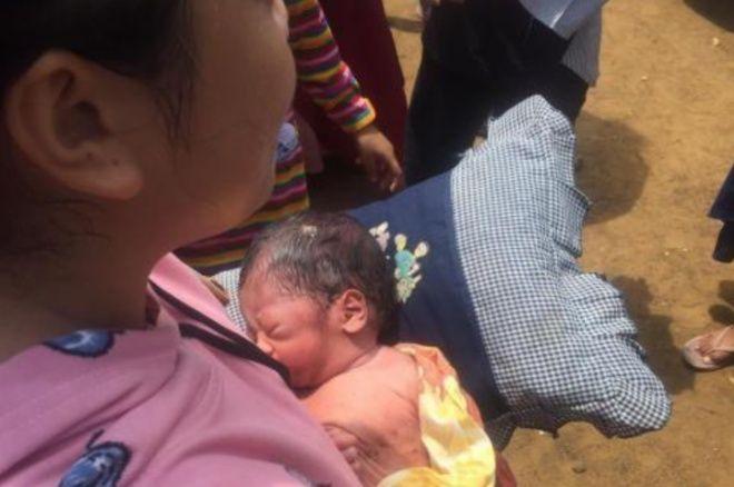 Warga Bulu Tempe Bone Digegerkan Penemuan Bayi Perempuan Di Pinggir Jalan