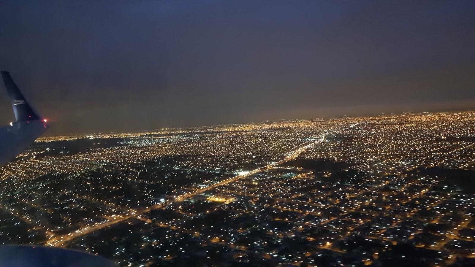 Buenos Aires in nacht