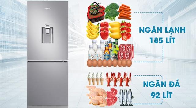 Tủ lạnh hai cửa Ngăn Đông Dưới 277L (RB27N4170S8/SV)