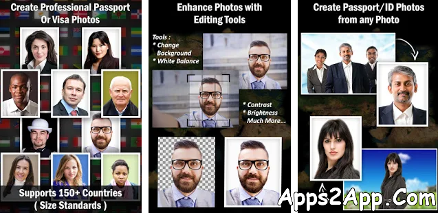Passport Size Photo Maker APK v1.8 [Pro] [Latest]