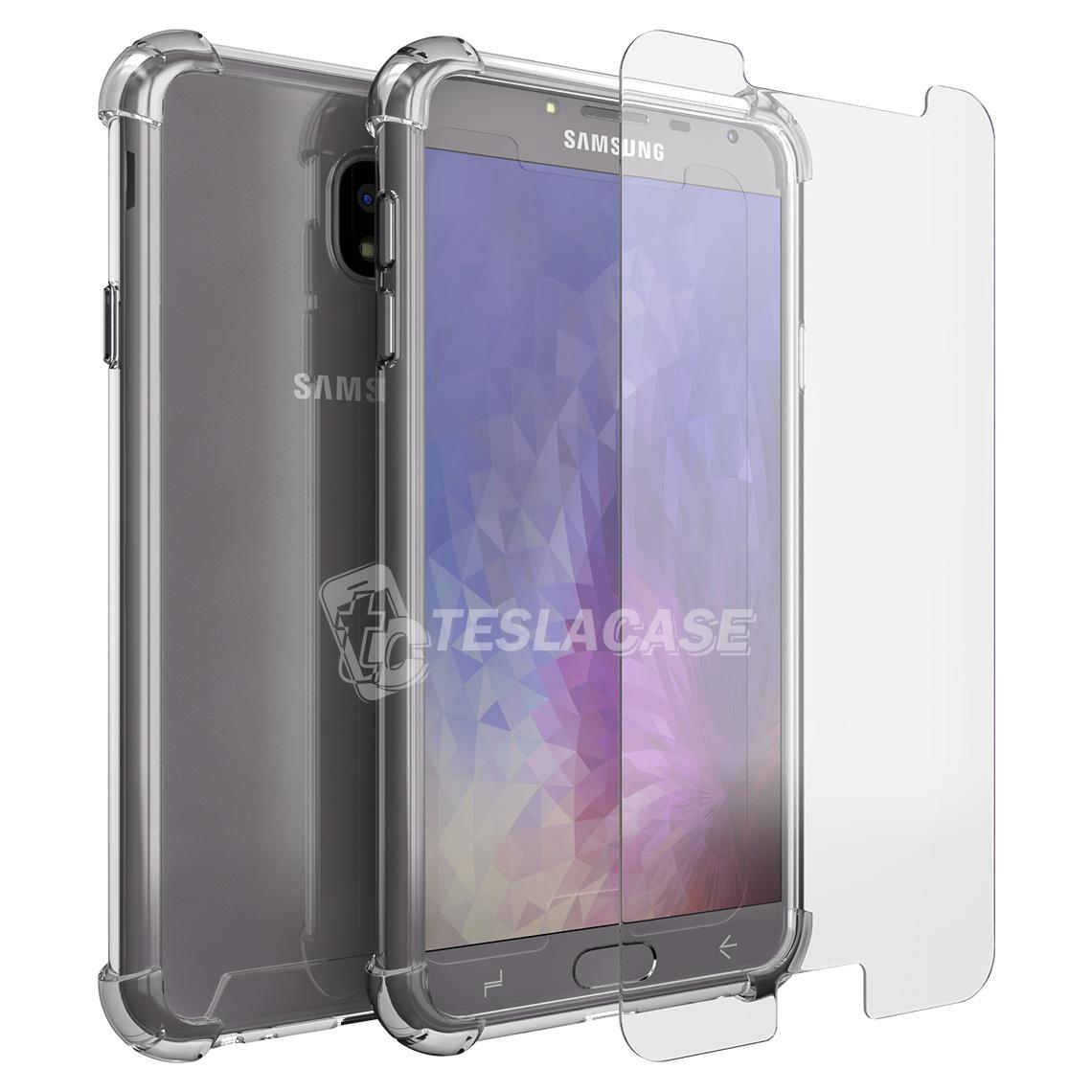 Para Samsung Galaxy J4 2018 J400F J400FD Lente de Cristal Frontal Cubierta Exterior LCD PANTALLA