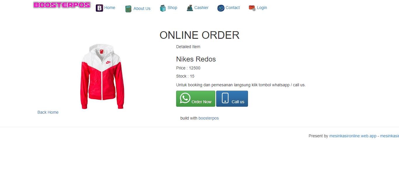 aplikasi toko pembuatan website online shop toko online