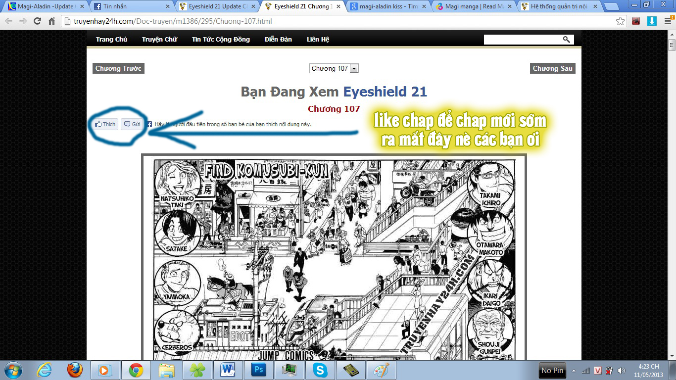 Eyeshield 21 chapter 113 trang 2