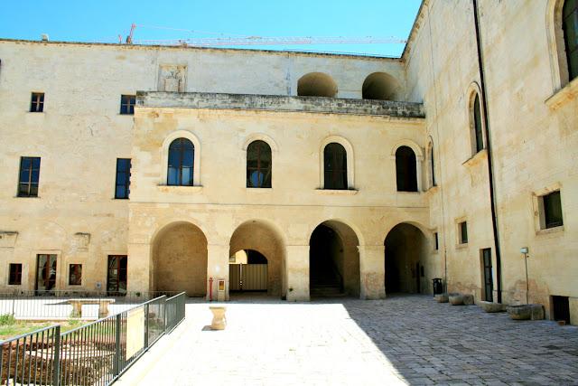 castello, monumento, archi
