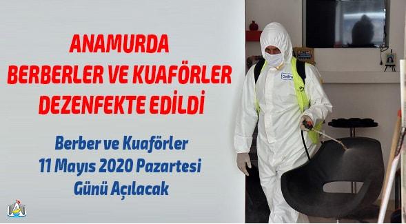 Anamur Haber, Anamur Son Dakika, Anamur Belediyesi, Koronavirüs,