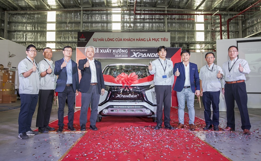 Xuất xưởng Mitsubishi Xpander AT lắp ráp tại Việt Nam