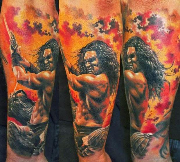 40 Tatuajes de guerreros | Belagoria | la web de los tatuajes