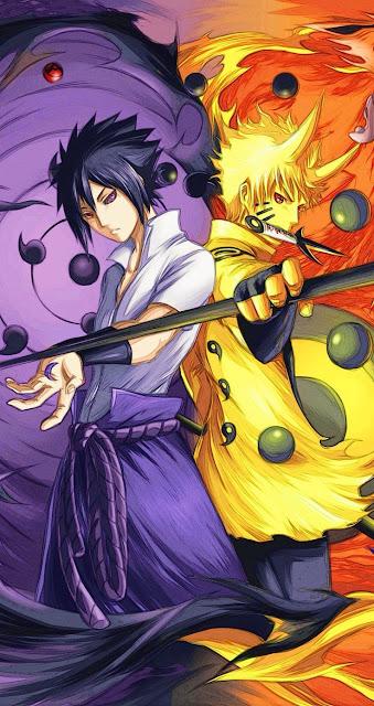 Naruto-and-Sasuke-Wallpaper