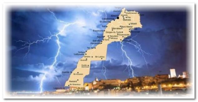 الأرصاد الجوية تحذر في نشرة خاصة من تقلبات في أحوال الطقس بسوس وعدد من المناطق(زخات رعدية وبرد)