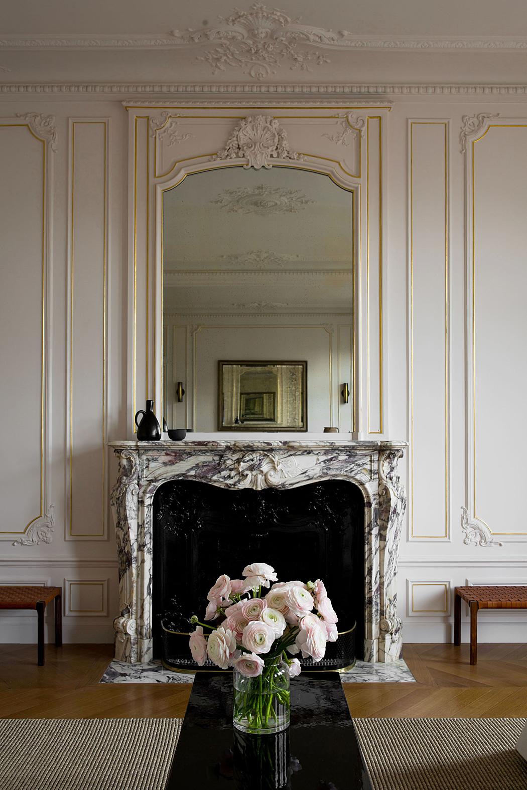 Décor Inspiration: A Paris Apartment by Christina Cole and Co.