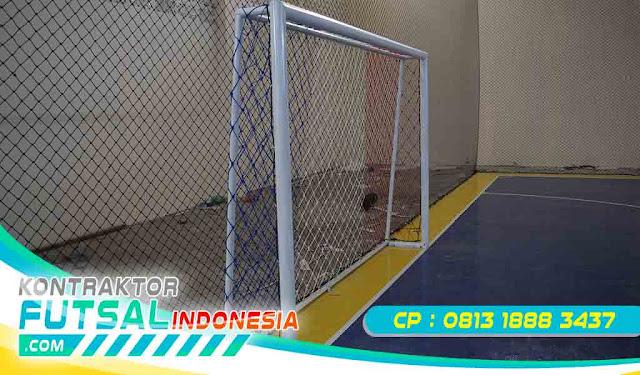 Jual Gawang Futsal Tanam, Portable, Custom Murah