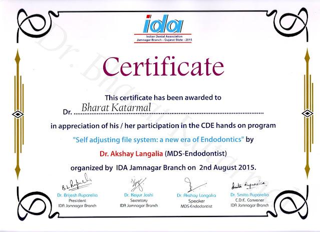 Self Adjusting File System a New Era of Endodontics by Dr. Akshay Langalia