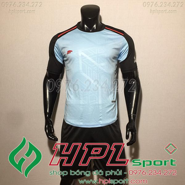 Áo ko logo Eureka Raki màu xanh ngọc