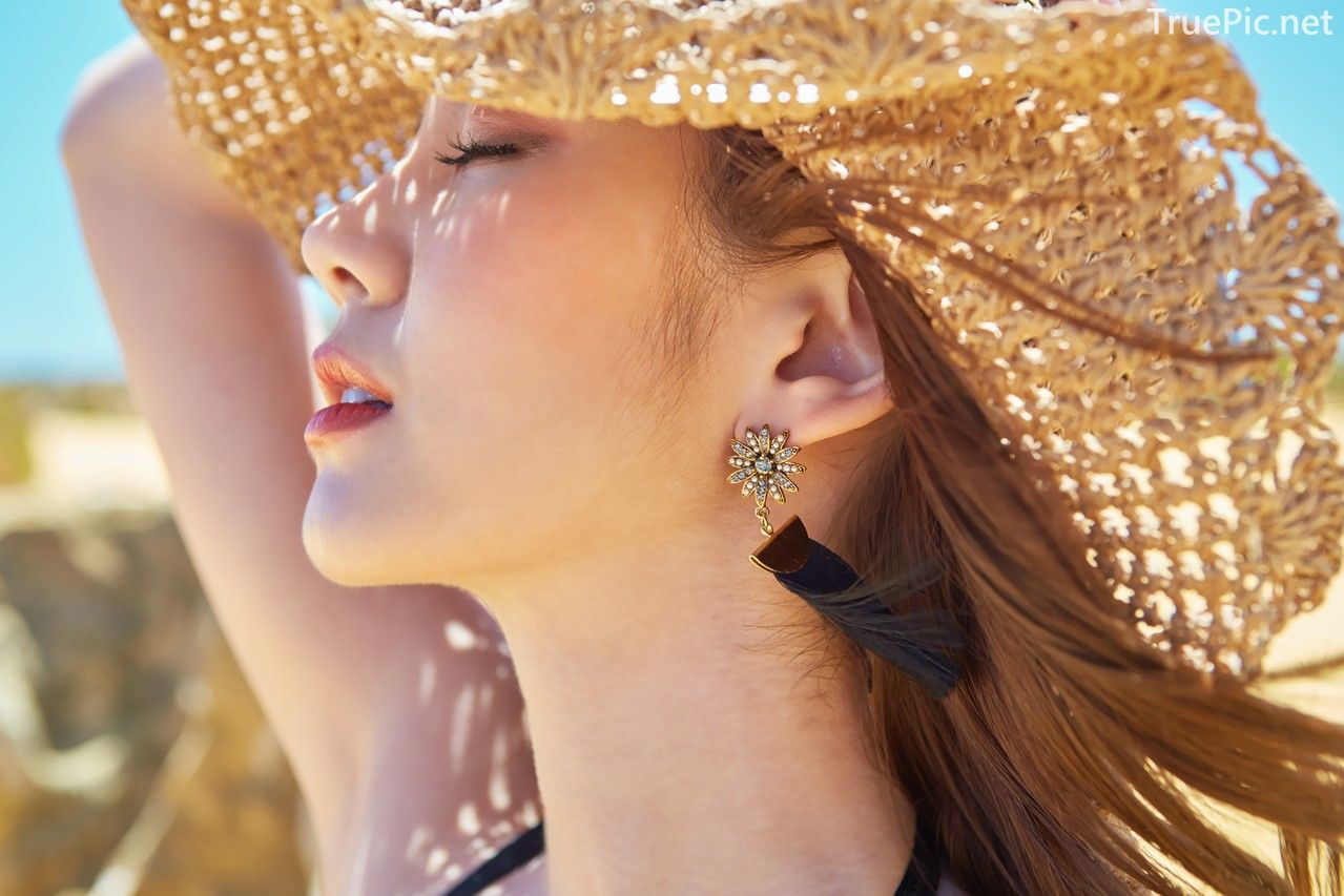 Korean fashion model Lee Chae Eun - Siena Beachwear Set Collection - TruePic.net - Picture 3