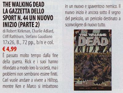 The Walking Dead #44 (edizione Gazzetta dello Sport)