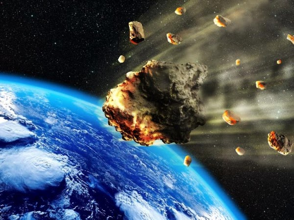 Hoy pasaran 3 asteroides cerca de la tierra.