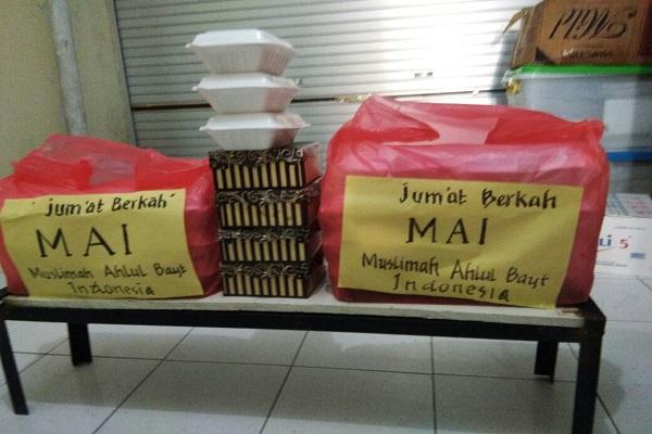 Syiah di Makassar Dekati Warga dengan Program Bagi-bagi Makanan Gratis