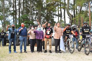 "Promosi Danau Toba melalui ""Touring Community To Lake Toba"""