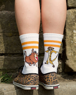 timon and puumba socks
