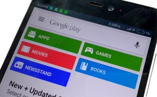 Menonaktifkan Auto Update Google Play