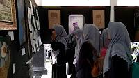 Lukisan Capres Jokowi dan Prabowo Diminati Pengunjung Pameran Seni