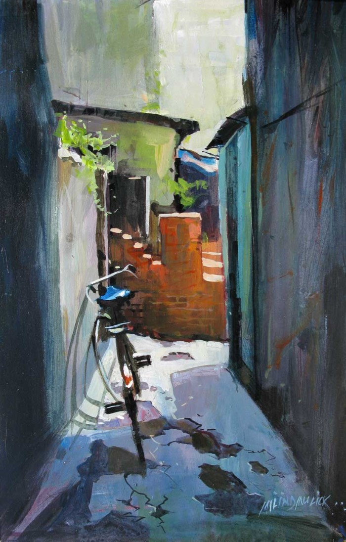 Индийский художник-акварелист. Milind Mulick