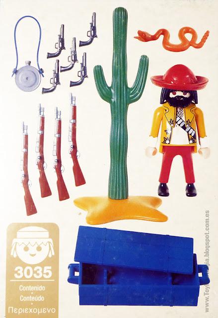 Playmobil 3035 Contrabandista Mexicano Arms Smuggler Waffenhändler