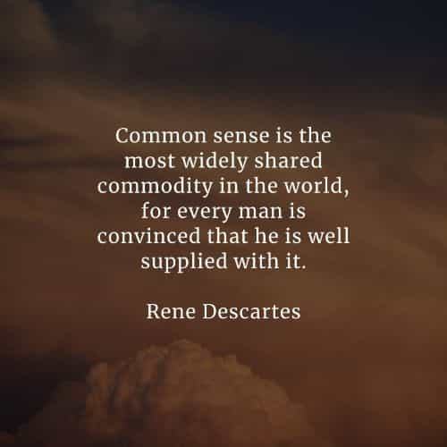 Common sense quotes that will explain its significance