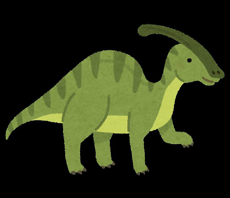 パラサウロロフスのイラスト恐竜 かわいいフリー素材集 いらすとや